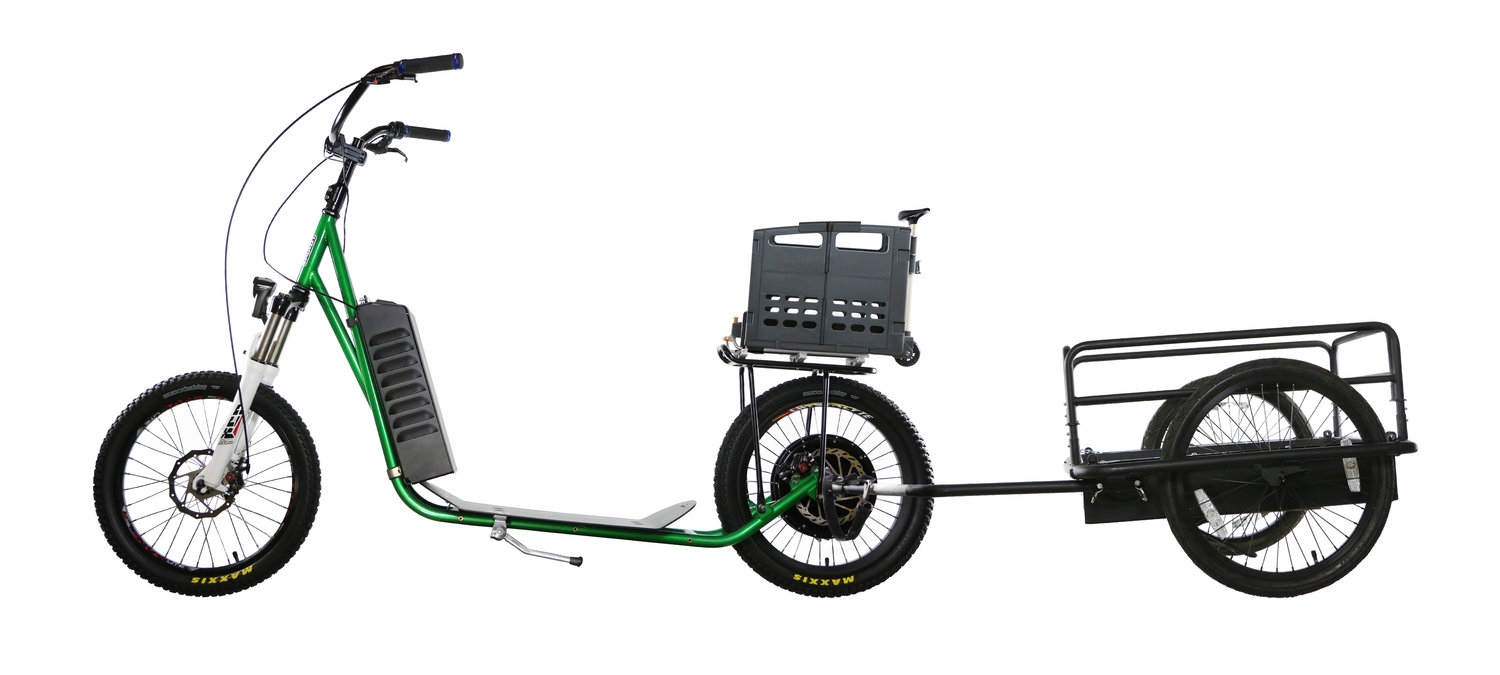 Industrial Stand Up Scooter
