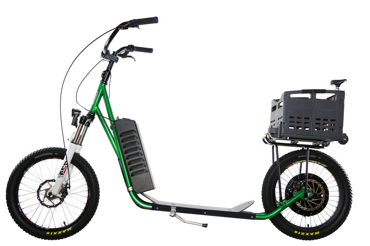 Industrial Stand Up Scooter - Click Image to Close